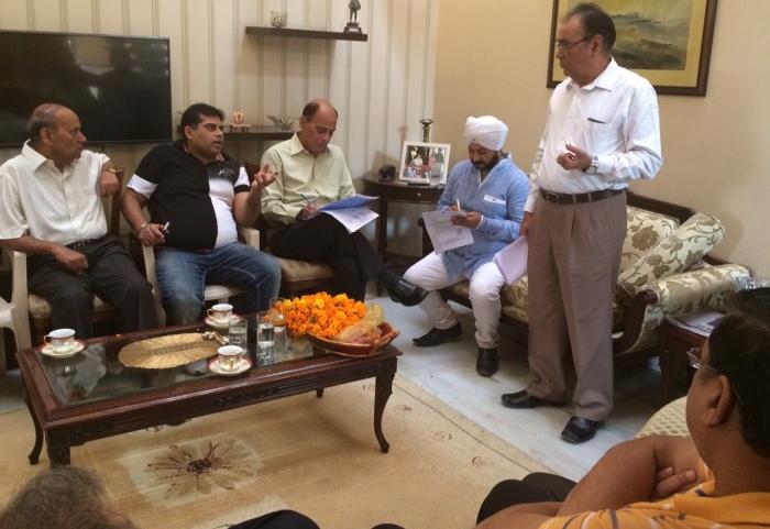 RWA meeting in Shankar Garden